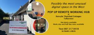 Pop Up Remote Working Hub